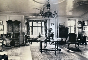 Fig. 14. Sitting room in an old photo.